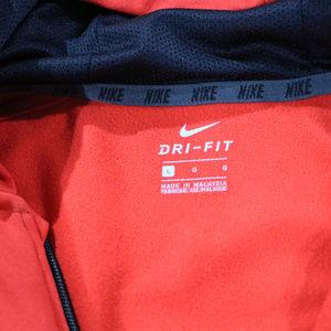 Nike Jackets & Coats - Red Nike Light Hooded Jacket in Boys